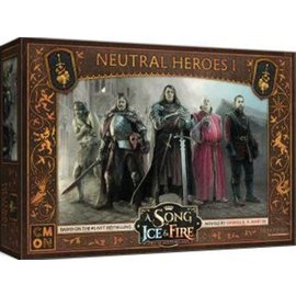 Cool Mini or Not A Song of Ice & Fire: Neutral (Mercenary) Heroes 1