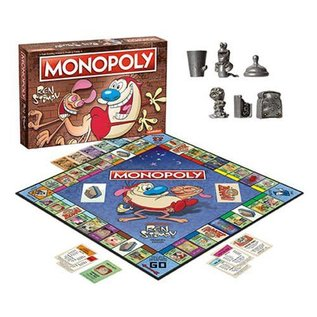 Hasbro Monopoly: Ren and Stimpy