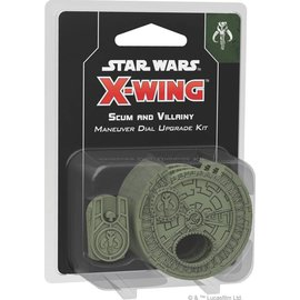 Fantasy Flight Star Wars X-Wing Second Edition: Scum and Villainy Maneuver Dial Upgrade Kit