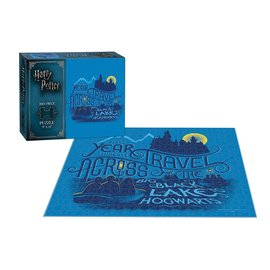 USAopoly Harry Potter Big Black Lake 200 Piece Puzzle
