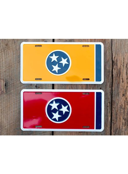 Vol Trad License Plates