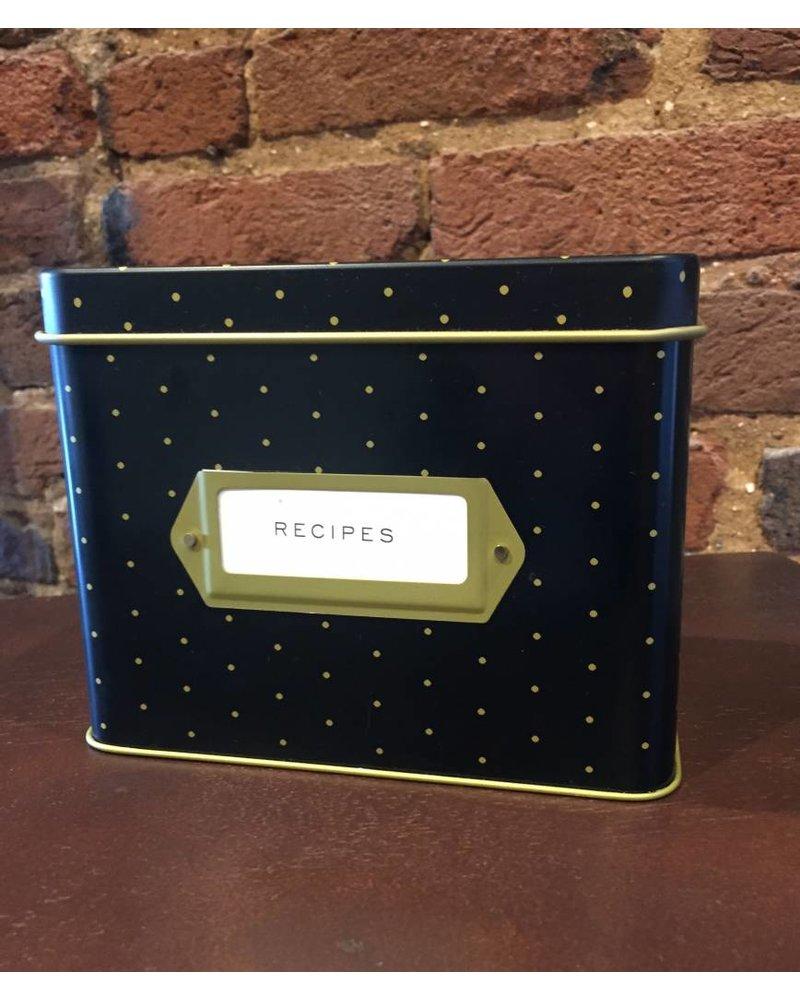 Dot Recipe Box