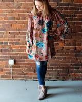 OffShld Floral Dress SL5510