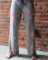 Flow Bottom Floral Sweatpants