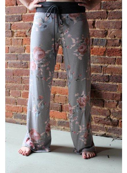 Flow Bottom Floral Sweatpants