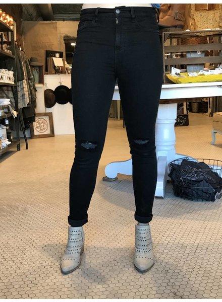 Black Skinny Jeans SP-P9606BK