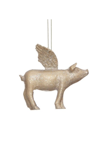 Flying Pig Ornament XC5215