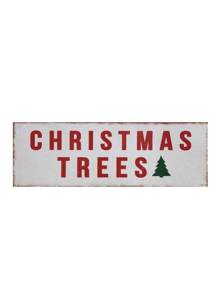 """christmas trees"" sign XC7128"