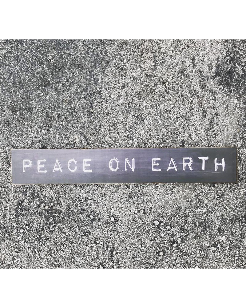 Peace on Earth Sign XM0122