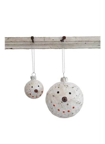 Snowman Head Ornament XC8127