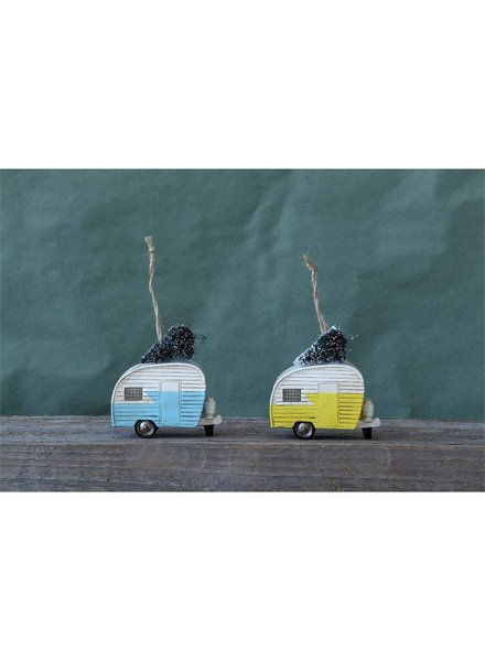 Resin Camper Ornament XC5192A