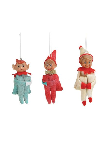 Vintage Elf Ornament XC4092A