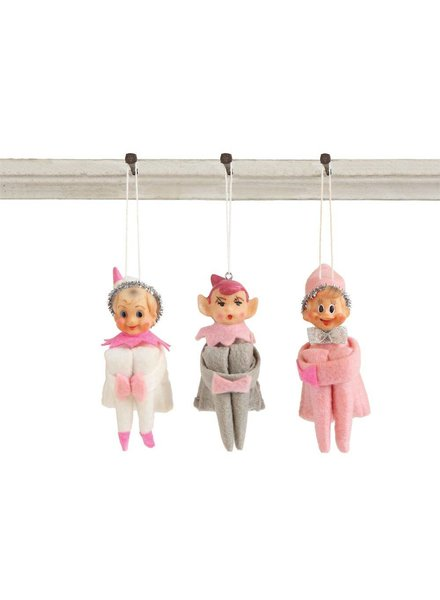 Vintage Elf Ornament XM0212