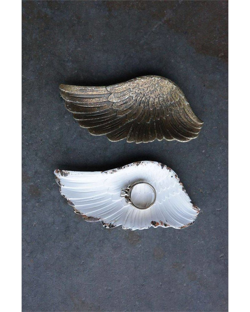 "4"" Decorative Pewter Wing"