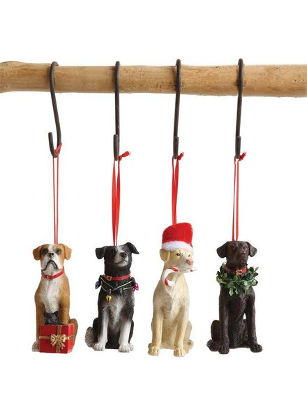 Resin Dog Ornament XM0142A