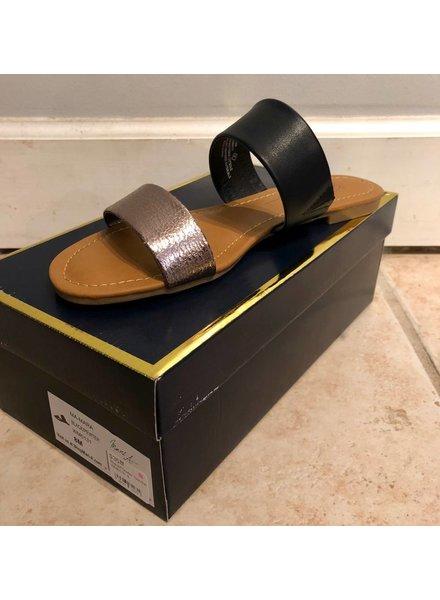 Rampage Black/Pewter Sandal WM0131