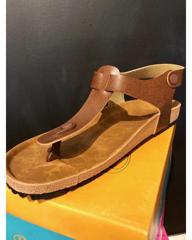 Brown Birk Sandals