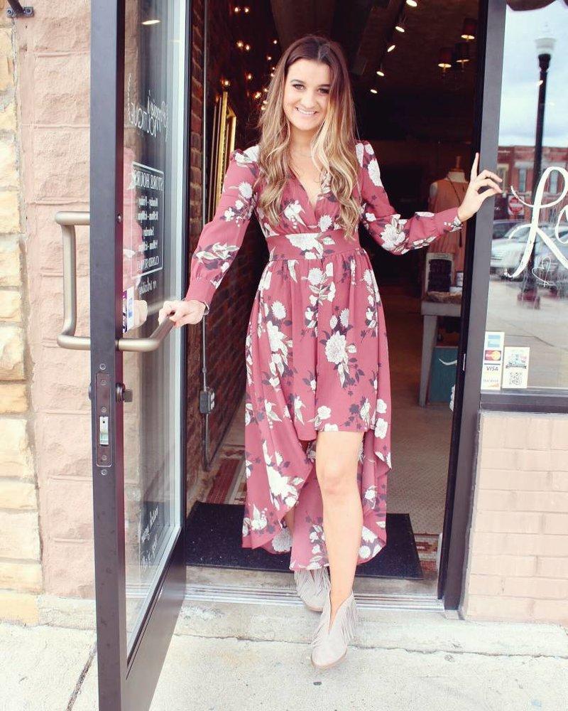 Promesa Rosewood Tiered Dress