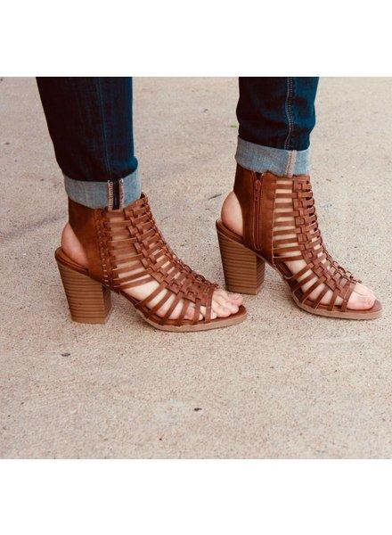 Sugar Shoes Vivid Strappy Heel