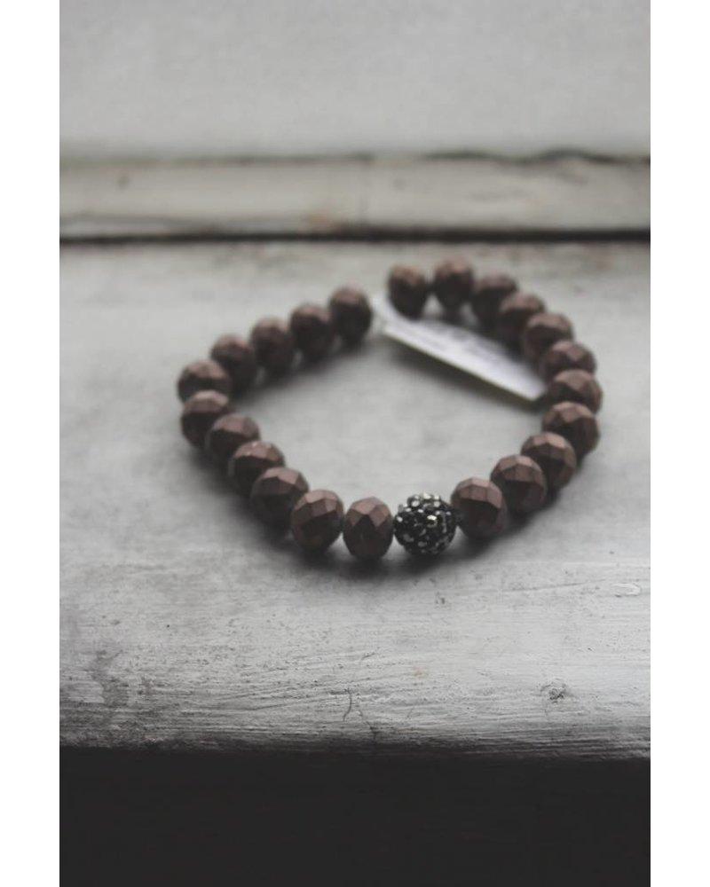 Glitzy Bead Bracelet