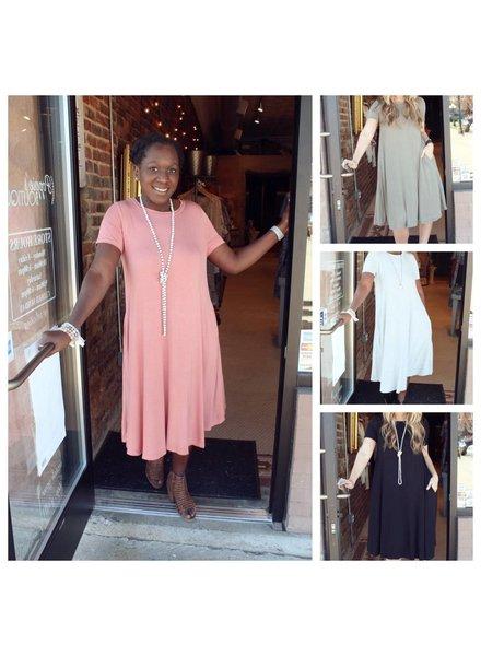 Bamboo Midi Dress