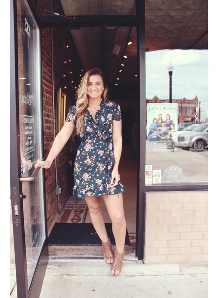 Jade Ruffle Dress