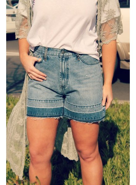 Blu Jean Baby Shorts