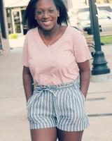 Ray Stripe Shorts