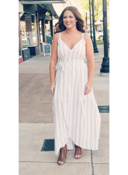 Listicle Kidman Wrap Dress