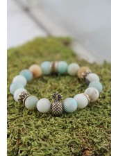 Mint Pineapple Bracelet