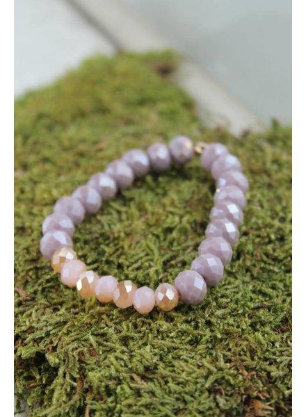 Lavender/Pink Sparkle Bracelet