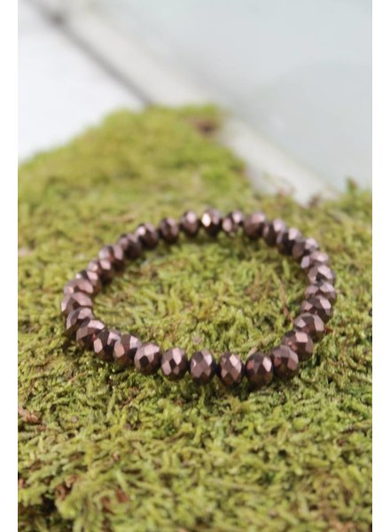 Chocolate Sparkle Bracelet