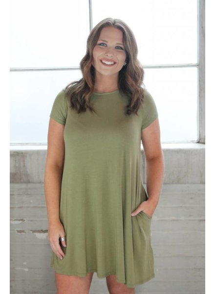 Cargo Bamboo Swing Dress