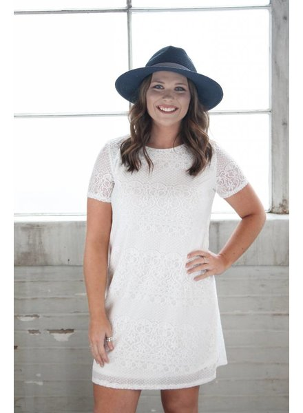 Bobell Amelia Lace Swing Dress