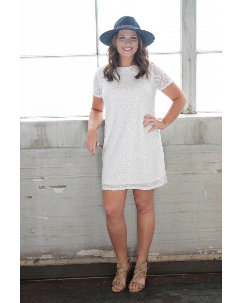 Bobell Amelia Lace Swing Dress