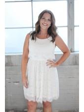 Wonderlust Sarah Ivory Lace Dress
