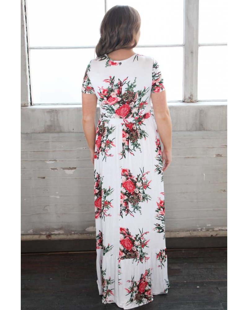 Sweet Claire Abby Floral Maxi