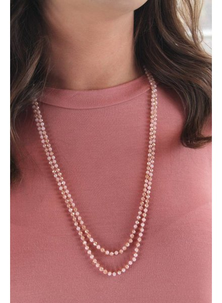 Dainty Pink Sparkle Beads