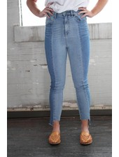 Twiggy Two-tone Jeans