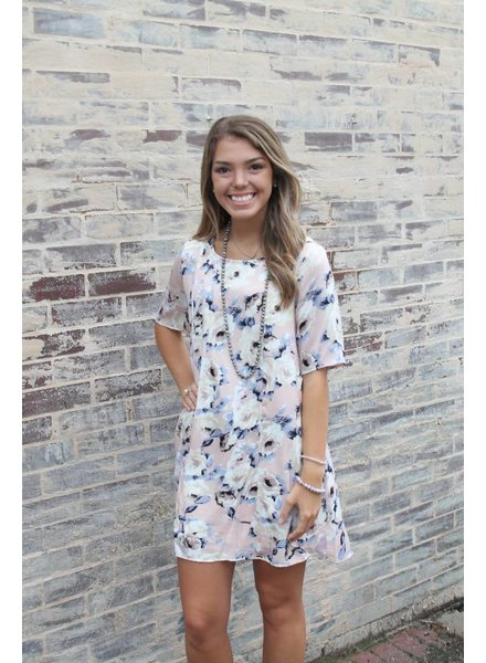 Eva Floral Swing Dress