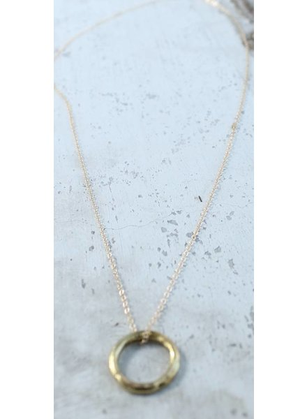 Karama Karama Floating Circle Necklace