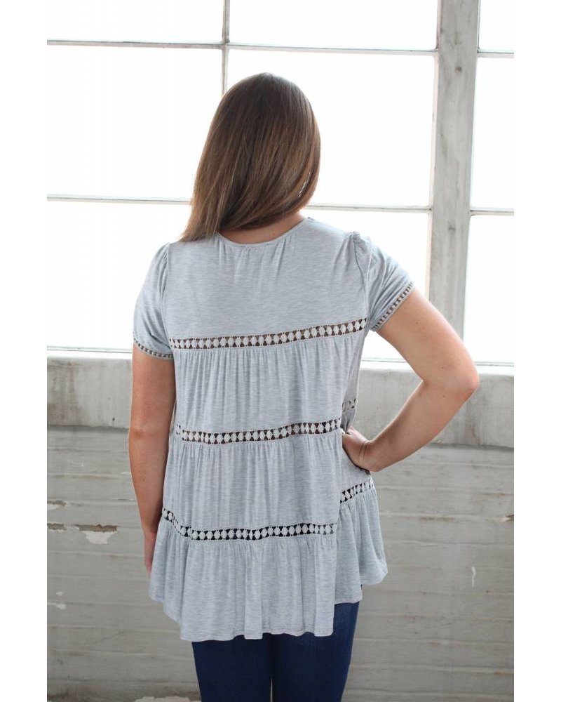 Summer Lovin' Cap Sleeve Tunic