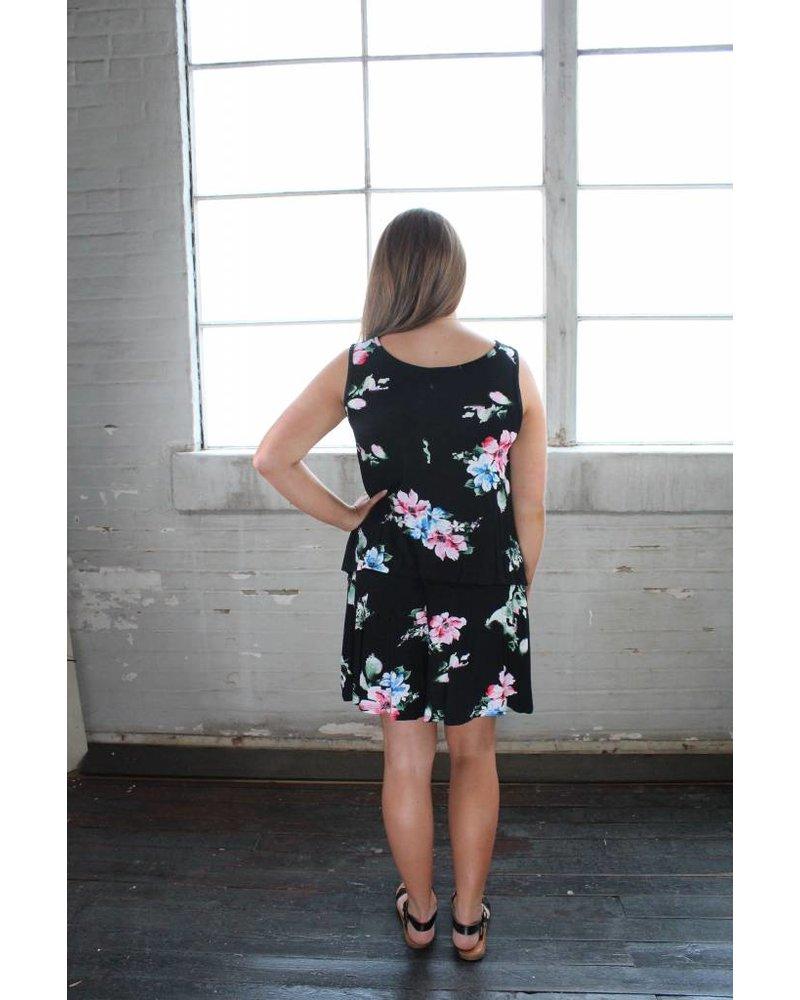 Callie Floral Short Set