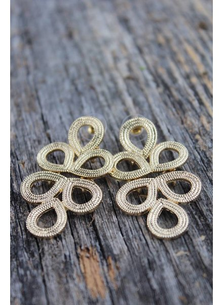 Golden Stella Tori gold earrings