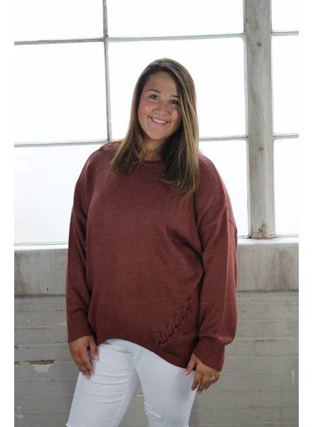 PLUS Perfectly rust sweater PTB3407