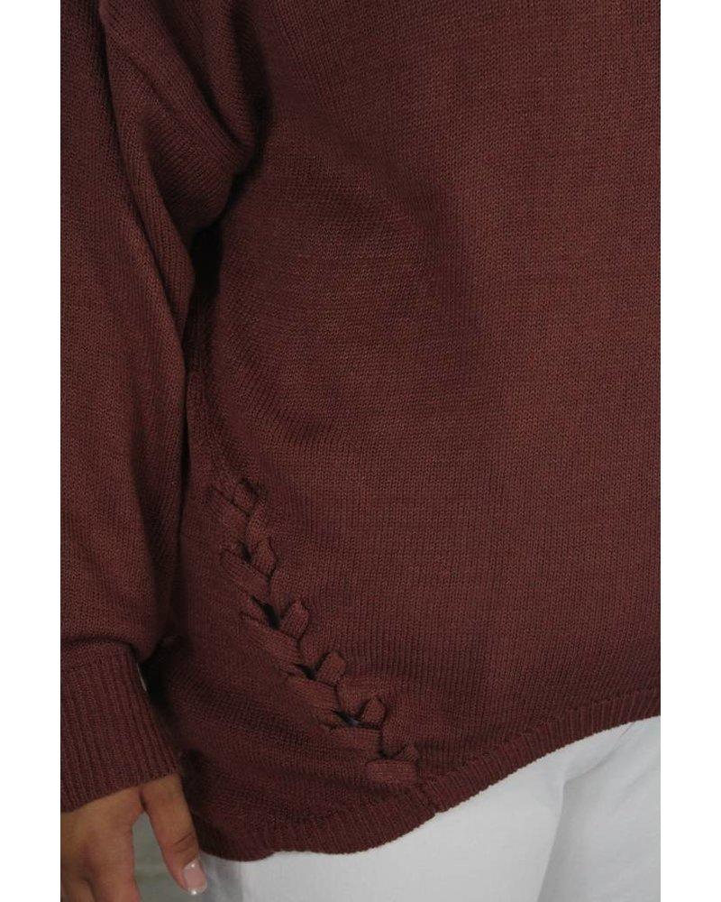 PLUS Perfectly rust sweater PTB3407
