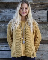 HYFVE My favorite Mustard Sweater LUX11283