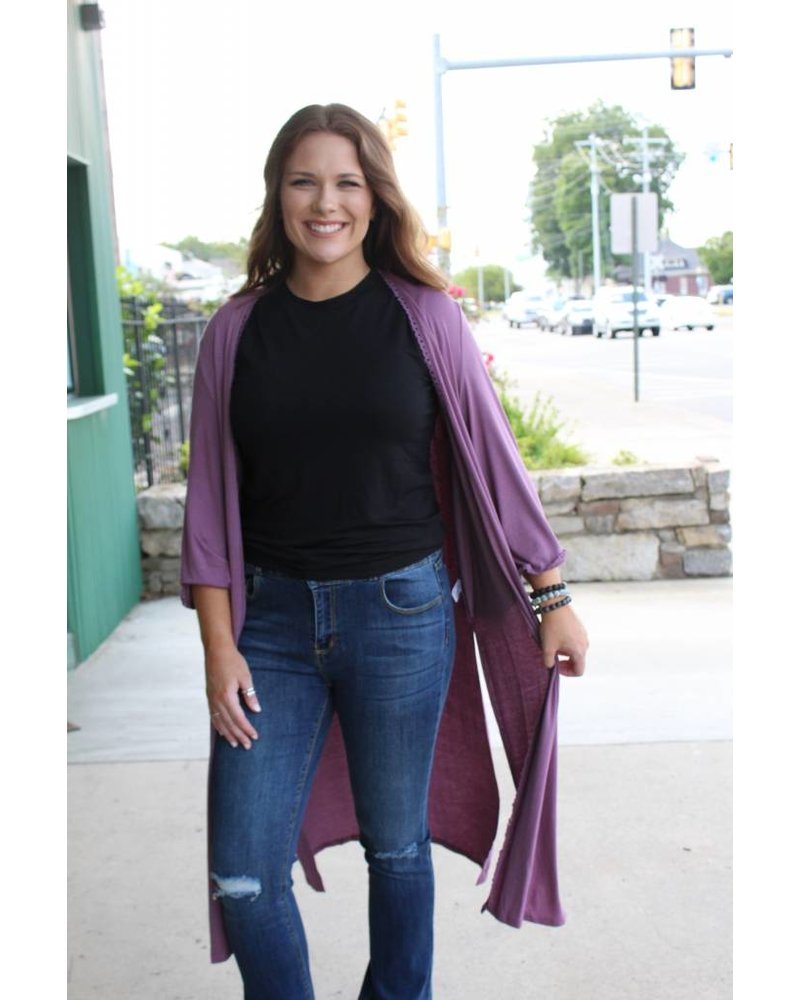 Phoebe Perfect Cardi Duster