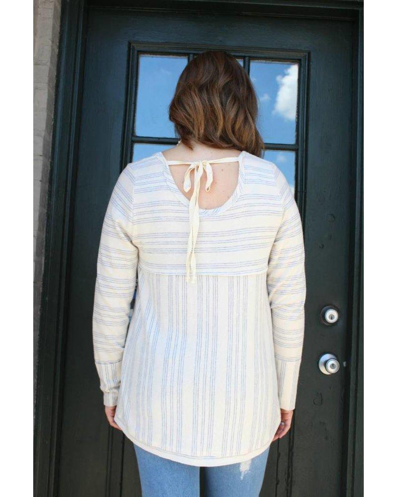 Faith Striped Soft Top FS27495