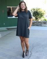Piper Acid Wash Pocket Dress